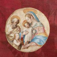 miniatura Galleria Mossini Mantova arte antiquariato perizie stime